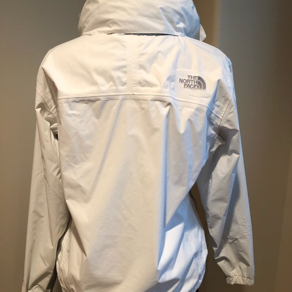 b1e45a869 Women's White North Face Rain Jacket
